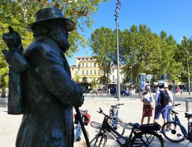 Statue de Cezanne